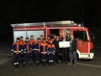 Bürgerverein Zündorf e.V. unterstützt die Jugendarbeit der Freiwilligen Feuerwehr Zündorf